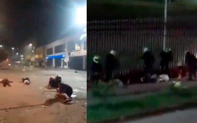 #NosEstánMatando. Videos de la noche de horror en Cali