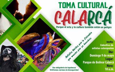 Toma cultural en Calarcá este domingo en Calarcá