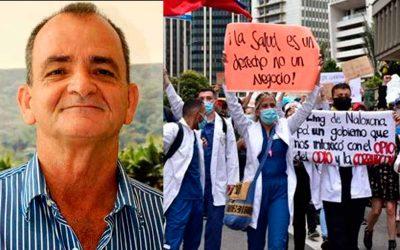 La polémica Reforma a la Salud, apoyada por Atilano Giraldo, una de las razones de protestas en Colombia