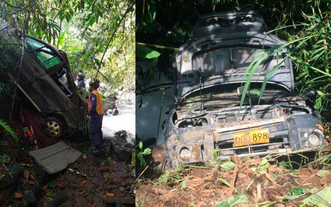 Carro robado Armenia quebrada