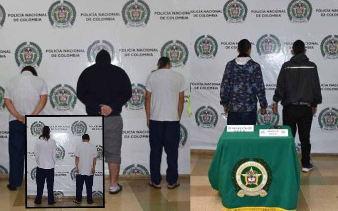Circasia banda Los Renegados homicidas 'Chuky