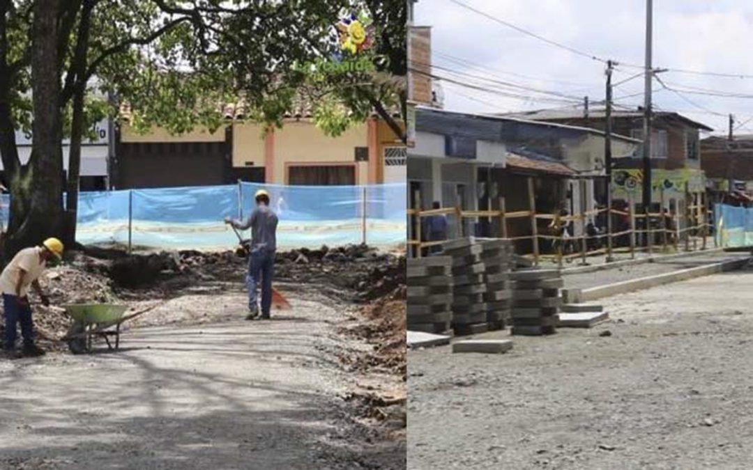 Consorcio embargado y sin cumplir obras en La Tebaida desde 2019 ahora se justifica en el Paro