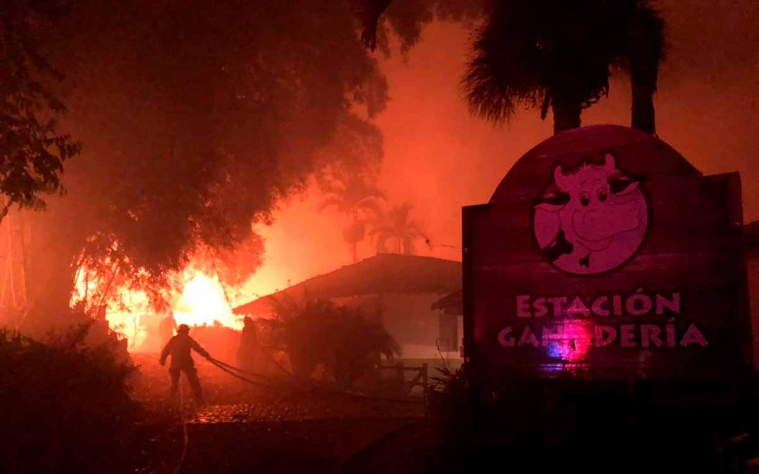 Incendio Panaca