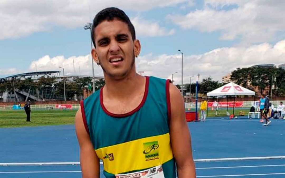Montenegrino ganó medalla de plata en Campeonato Nacional de Atletismo Sub 20