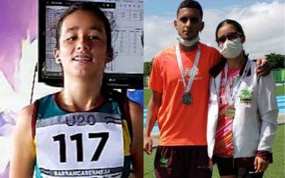 Quindiana ganó medalla de oro en el Campeonato Nacional de Atletismo Sub 20