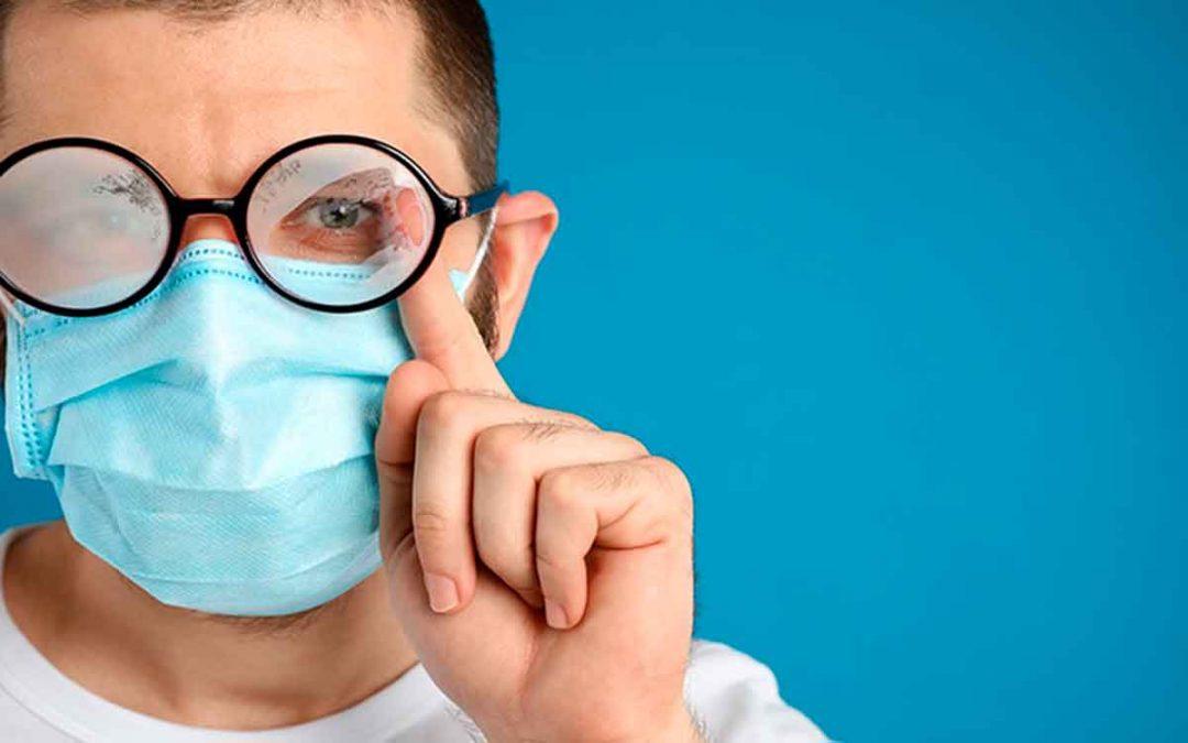 Tips para evitar que las gafas se empañen con el tapabocas