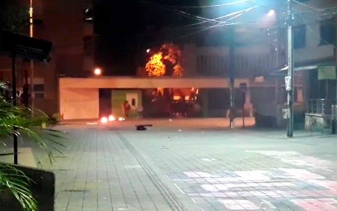 detenidos enfrentamientos Esmad manifestantes Uniquindío