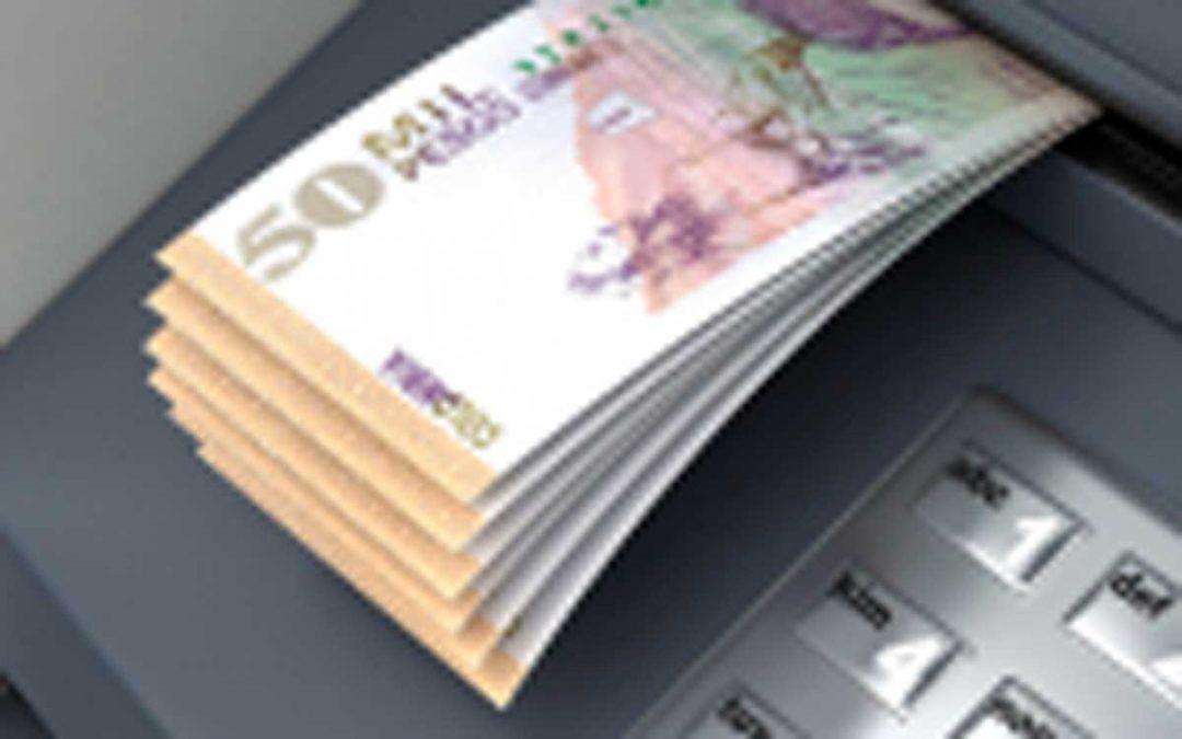 Cajero automático arrojó 1 millón de pesos en billetes falsos