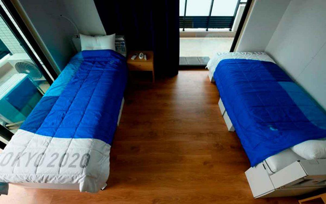 Diseñaron camas anti sexo para deportistas de los Juegos Olímpicos