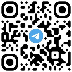 Codigo QR Telegram Club 180 Grados