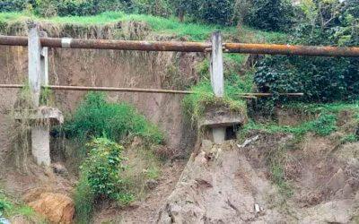 Daño en tubería antigua podría dejar sin agua al municipio de Calarcá
