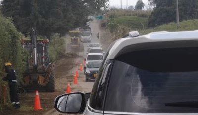 Habrá cierre total en la vía Circasia-Montenegro por horas