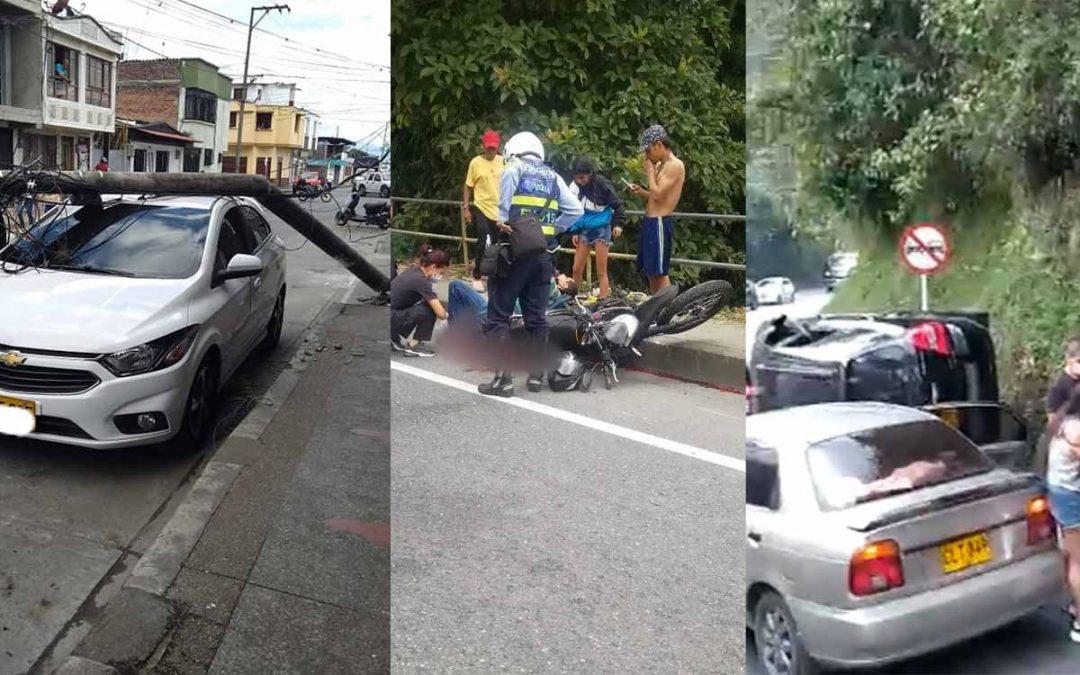 Motociclista perdió una pierna