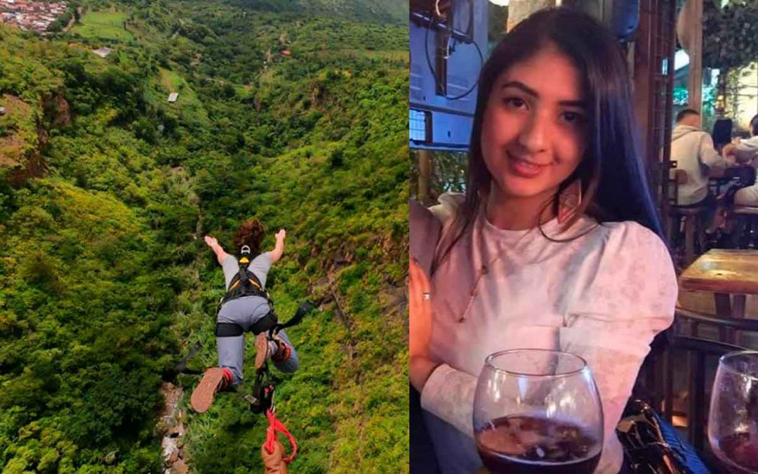 Mujer perdió la vida al saltar del bungee jumping