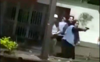 Video: sujeto hirió a otro hombre con arma traumática muy cerca a la UniQuindío