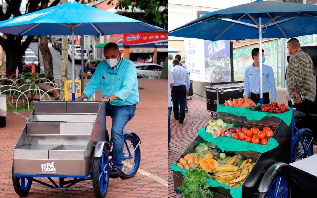bicicarros serán entregados a vendedores ambulantes en Armenia