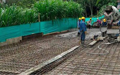 Reconstrucción de puente de acceso al Jardín de La Fachada, en un 80% tras 5 años de espera