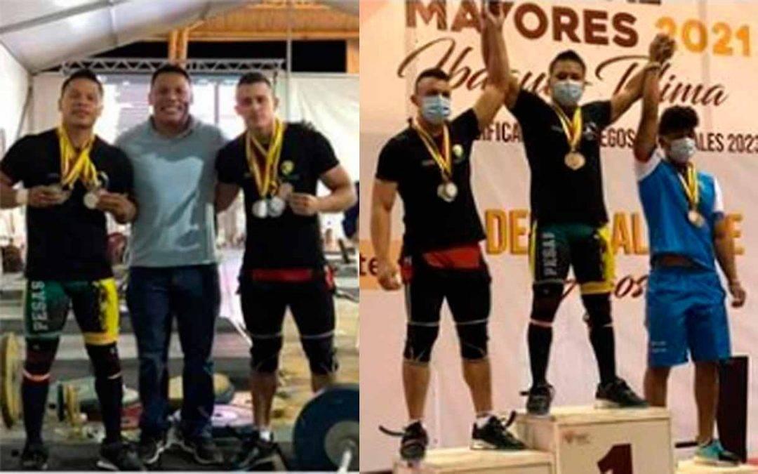 20 medallas lograron los pesistas quindianos en campeonato nacional de halterofilia