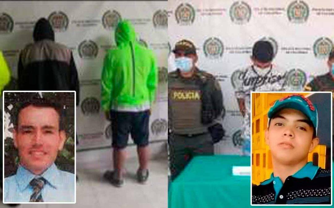 Capturados asesinos en Calarcá y La Tebaida