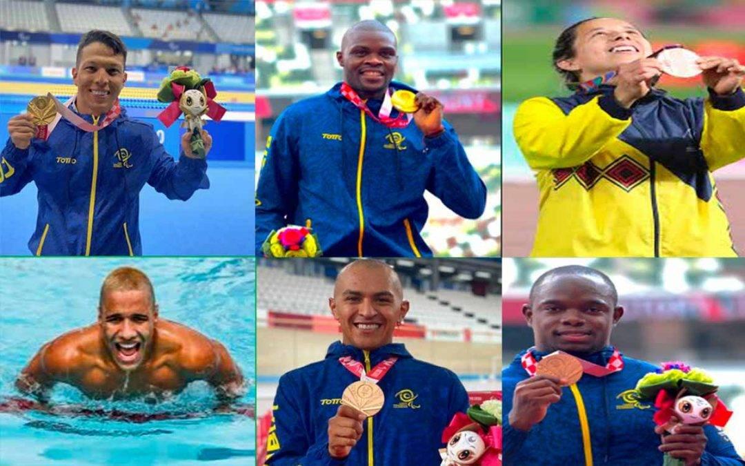Colombia ya suma más medallas en los Paralímpicos que en los Olímpicos de Tokio 2020