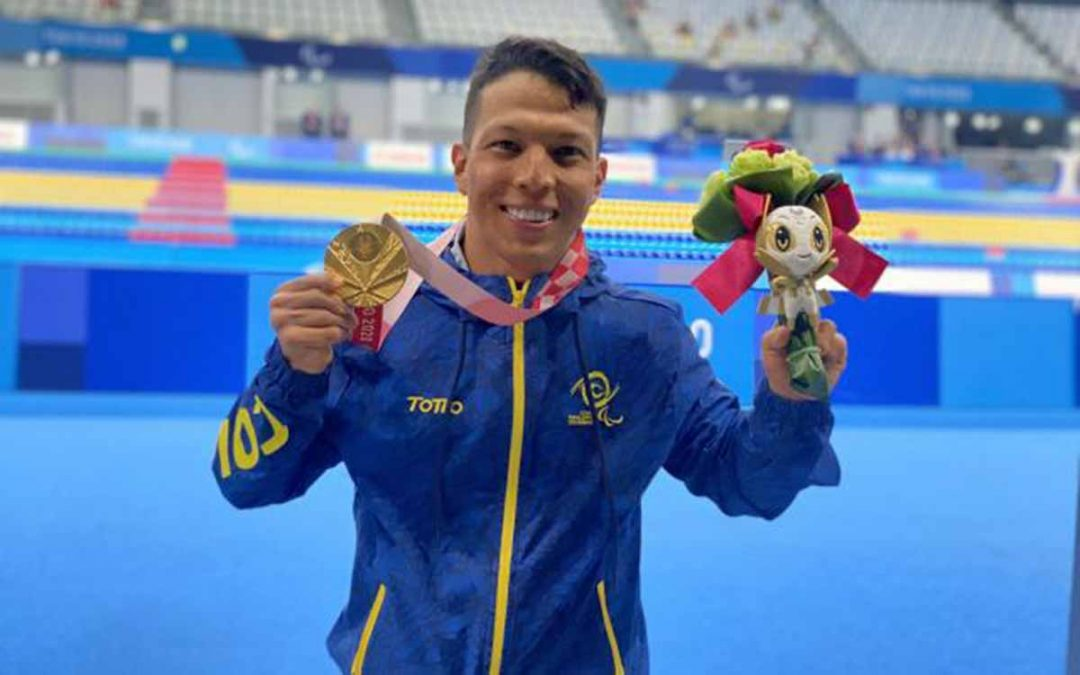Nelson Crispín, primer oro paralímpico para Colombia en Tokio 2020
