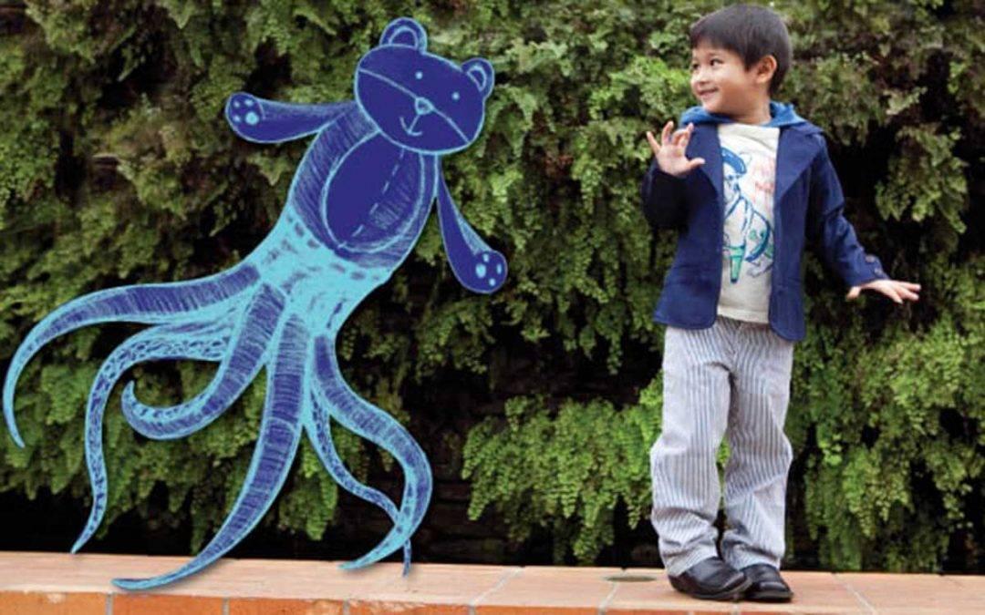niño vende amigos imaginarios