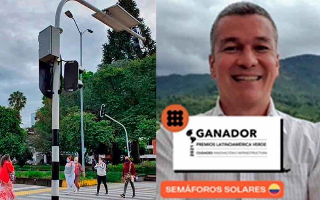Semáforo solar de Armenia recibió reconocimiento latinoamericano