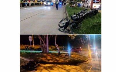 2 motociclistas muertos en accidentes en el norte de Armenia y Chagualá