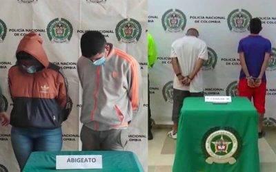 Cayeron ladrones de ganado en Calarcá y delincuentes que atracaban fincas en el Quindío