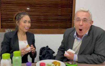 El motivo por el que Epa Colombia se reunió con Uribe