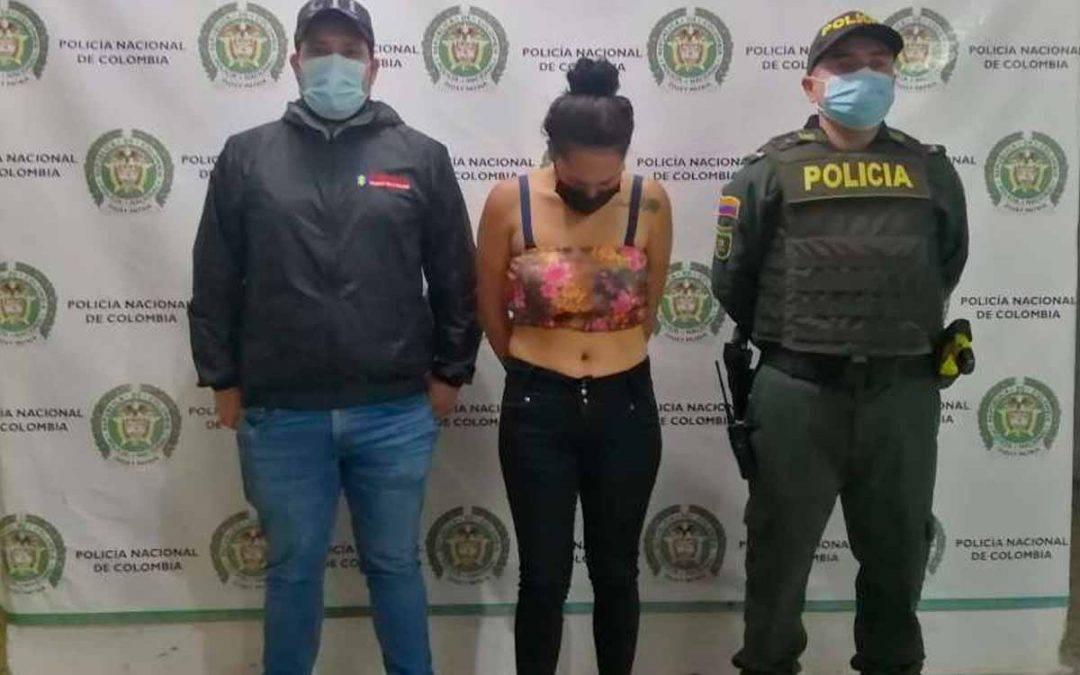 En Montenegro capturaron a una mujer de 24 años por extorsión y concierto para delinquir