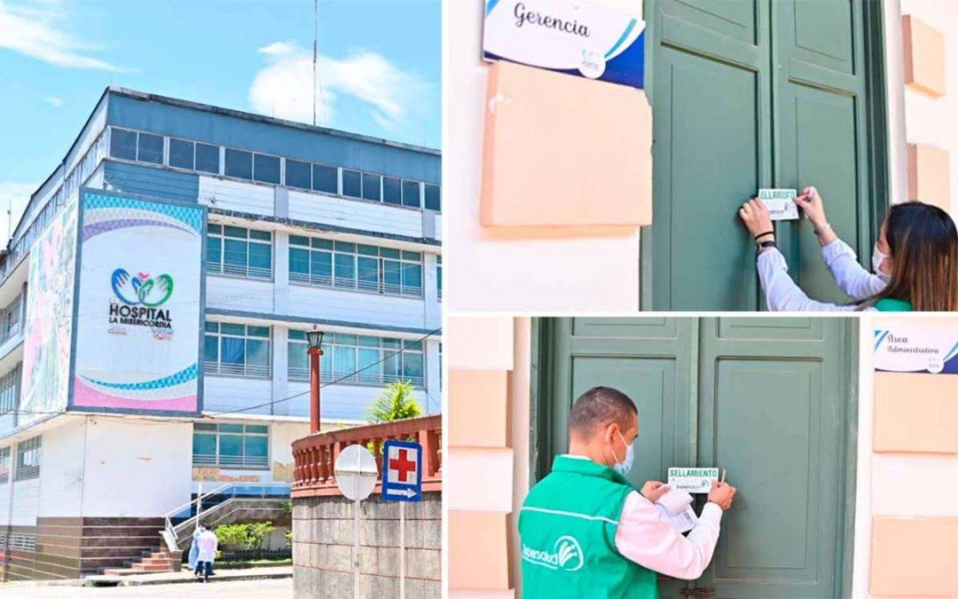 SuperSalud tomó posesión del Hospital La Misericordia de Calarcá