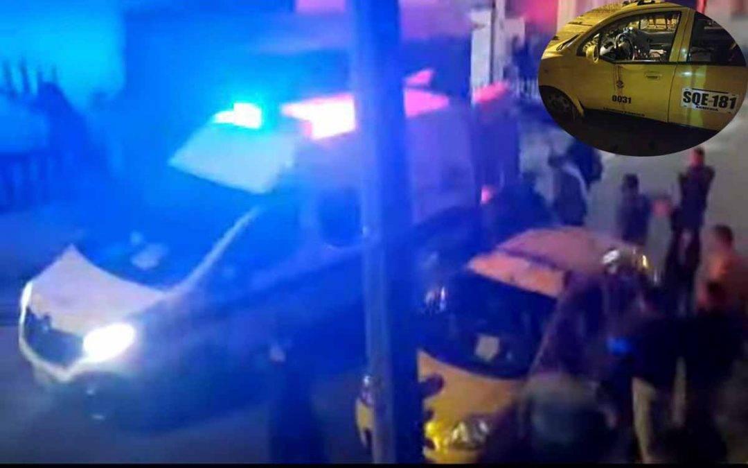 Hirieron con arma blanca a taxista por robarlo en Armenia. Agresores fueron capturados