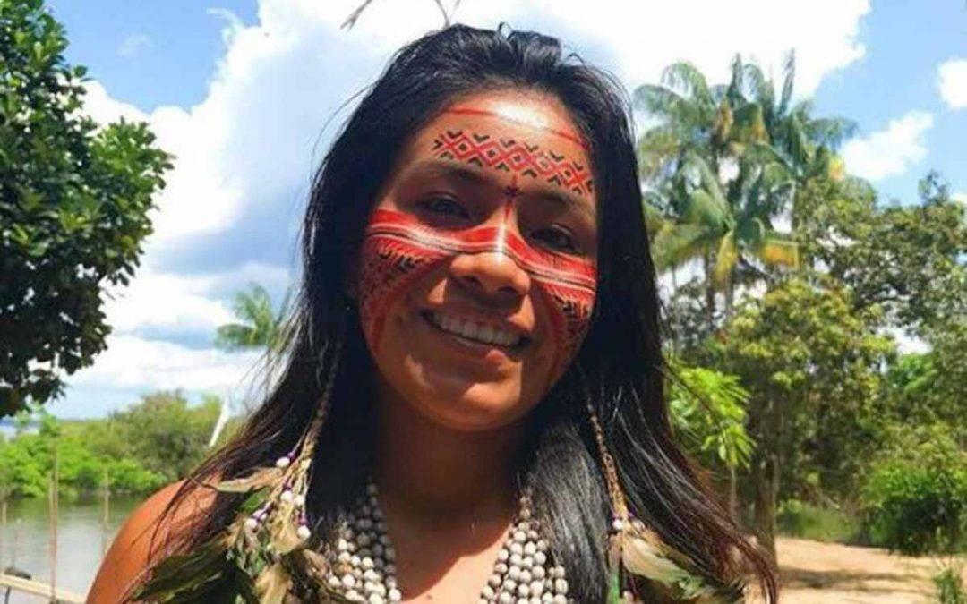 Tiktoker indígena