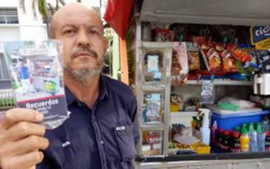Vendedor de dulces en Armenia escribió libro sobre la pandemia