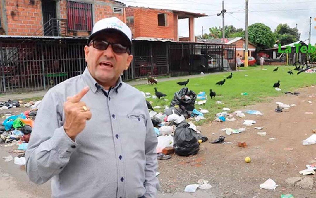 alcalde de La Tebaida contra la empresa de aseo Urbaser