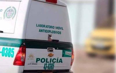 Lanzaron explosivo a policías en La Tebaida. 5 uniformados heridos