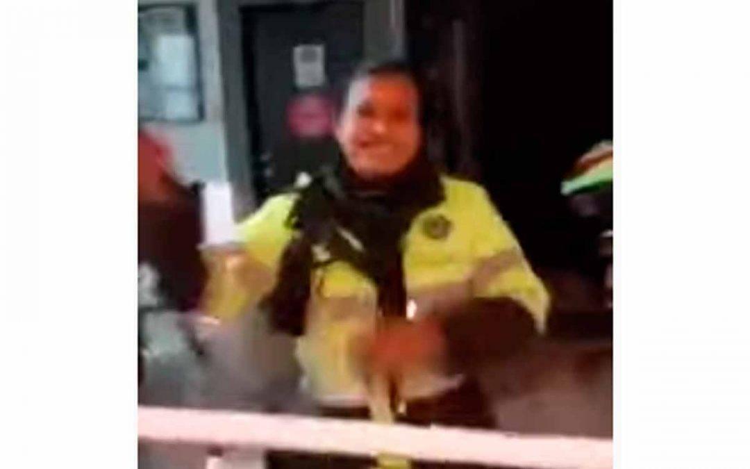investigación a policías que golpearon ciudadano en Montenegro