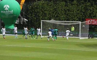 Deportes Quindío perdió ante La Equidad en su visita a Bogotá